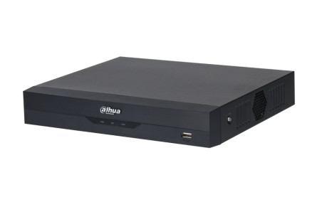 Dahua XVR Rögzítő - XVR5104HS-I2 (4 port, 5MP/10fps 2MP/15fps, H265+, 1x Sata, HDMI, AI)