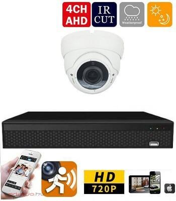 AHD-36 1 kamerás megfigyelő kamerarendszer 5X ZOOM