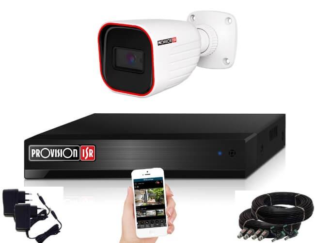 Provision AHD-23 1 kamerás megfigyelő kamerarendszer 2MP FULL HD