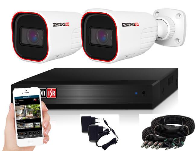 Provision AHD-36 2 kamerás kamerarendszer 2MP Full HD 1920X1080p