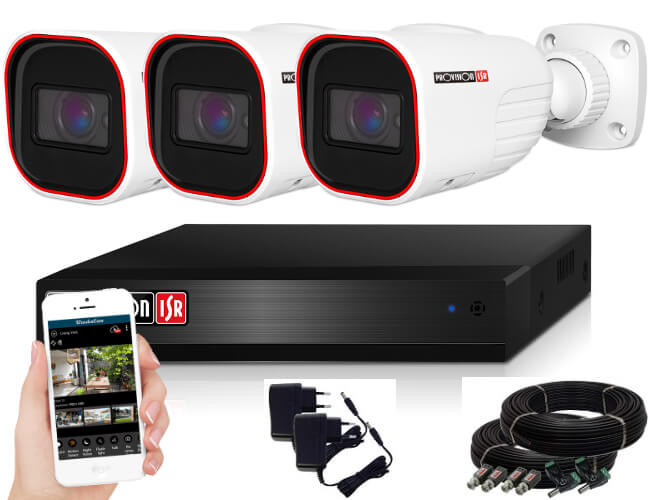 Provision AHD-36 3 kamerás kamerarendszer 2MP Full HD 1920X1080p