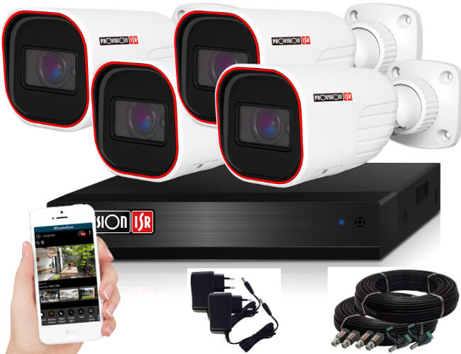 Provision AHD-36 4 kamerás kamerarendszer 2MP Full HD 1920X1080p