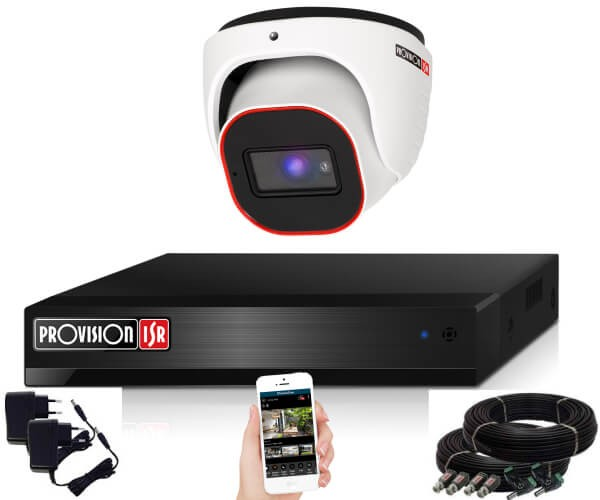 Provision Full HD 36 dome 1 kamerás megfigyelő kamerarendszer